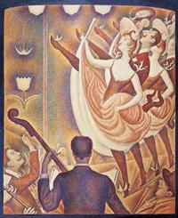 Канкан (Жорж Сёра, 1889-1890 г.)