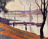 Мост в Курбвуа (Жорж Сёра, 1886-1887 г.)