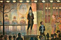 Парад (Жорж Сёра, 1888 г.)